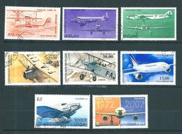 France  PA De 1985 A 2002 Complet  N°58  A  65 Oblitérés - Poste Aérienne