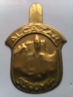Emblema De Auxilio Social De Alcázar De Segovia. Guerra Civil Española. 1936-1939. Bando Nacional.Sección Femenina - 1939-45