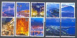Japan - Japanese Night View Series N°1 2015 - 1989-... Emperador Akihito (Era Heisei)