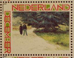 Persoonlijke December Postzegel D12c Mobiele OKI Printer Postaumaat 2013 Vincent Van Gogh The Poet's Garden - Netherlands