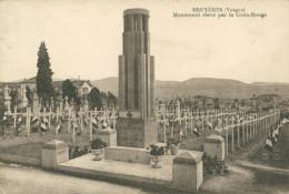 88 BRUYERES / Monument élévé Par La Croix Rouge / - Bruyeres