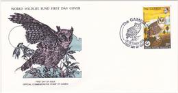 1978 / Lot De 4 Enveloppes 1er Jour Du Fonds Mondial Pour La Nature / FDC / GAMBIE - Gambie (1965-...)