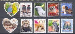 Japan - Familiar Animals Series N°3 2017 - 1989-... Emperador Akihito (Era Heisei)