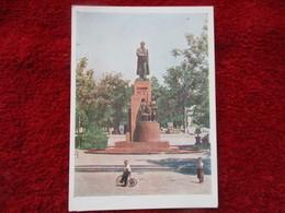 Stalinabad - Monument à V. Kouibychev - Tajikistan