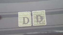 LOT 393469 TIMBRE DE FRANCE NEUF* N°137/138 VALEUR 20 EUROS - Parcel Post