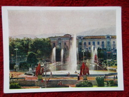 Stalinabad - Place Du 800e Anniversaire De Moscou - Tadjikistan