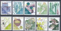 Japan - Greetings Stamps Traditional Colors In Daily Life 2016 - 1989-... Emperador Akihito (Era Heisei)