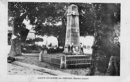 Saint Etienne Les Orgues....monument Aux Morts... - Frankreich