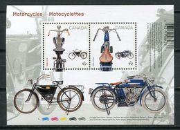 Canada 2013 / Motorcycles MNH Motocicletas Motorräder / Cu7700  23 - Motos