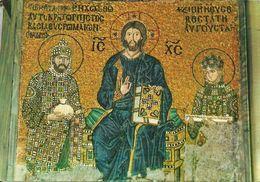 Istanbul (Turchia, Turkey) Mosaico Bizantino Nel Museo Di Santa Sofia, Byzantin Mosaic From Saint Sophia Museum - Turchia