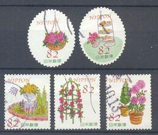 Japan - Greetings Stamps Daily Flowers 2016 - 1989-... Emperador Akihito (Era Heisei)