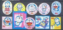 Japan - Greetings Stamps Doreamon 2016 - 1989-... Emperador Akihito (Era Heisei)