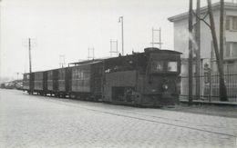 CHEMIN DE FER DU NORD -  Ligne Lens Frévent ( Photo 1935 Format Carte Ancienne) - Trains