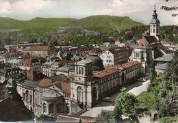 (Allemagne ) BADEN BADEN Blick Der Terrasse Des Neuen Schlosses Voiture Auto Car - Baden-Baden