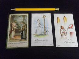 3 FAIRE PARTS - RELIGION  - Années 1930 Et 1960 - Communion - Faire-part
