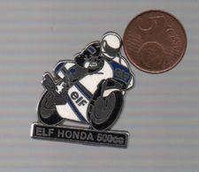 ELF HONDA 500 CC..EBC FRANCE ( Au Dos ) - Motorbikes