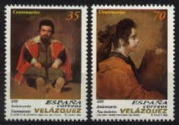 Spain 1999. Diego De Velazquez Ed 3658-59 (**) SG 3591-92 - 1931-Aujourd'hui: II. République - ....Juan Carlos I