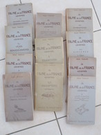 La Faune De La France Entableaux Synoptiques Illustrés, Rémy Perrier - 1901-1940