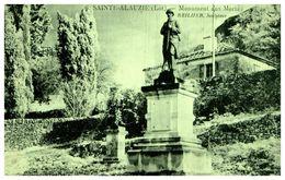 SAINTE-ALAUZIE - Monuments Aux Morts - Autres Communes