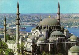 Istanbul (Turchia, Turkey) Mosque (Moschea) Suleymaniye E Golden Hora - Turchia