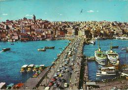 Istanbul (Turchia, Turkey) Panorama Del Ponte Galata, General View Of Galata Bridge - Turchia