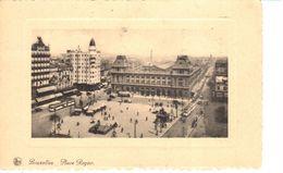 Bruxelles - CPA - Brussel - Place Rogier - Places, Squares