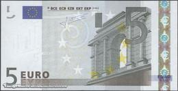 TWN - FRANCE 8U - 5 Euro 2003 Prefix U - Plate L032J2 - Signature: Trichet UNC - EURO