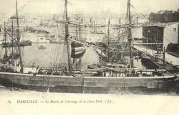 MARSEILLE  Le Bassin De Carénage Et Le Vieux Port   Precurseur RV - Puerto Viejo (Vieux-Port), Saint Victor, Le Panier