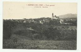 BORGES DEL CAMP - VISTA GENERAL - RETRO TIMBRO UFFICIO POSTALE SPECIALE 1939 - VIAGGIATA FP - Tarragona