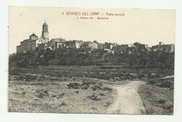 BORGES DEL CAMP - VISTA PARCIAL  - RETRO TIMBRO UFFICIO POSTALE SPECIALE 1939 - VIAGGIATA FP - Tarragona