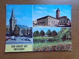 Nederland / Een Groet Uit Enschede --> Beschreven 1961 - Enschede