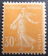 LOT FD/1589 - 1907 - TYPE SEMEUSE N°141c (papier GC) - NEUF* - 1906-38 Sower - Cameo