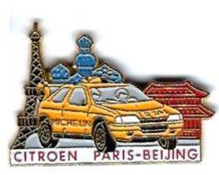 GROUPE PSA - CITROEN - C18 - PARIS - PEKIN - Verso : SM - Peugeot