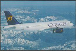 Cyprus Airways Airbus A320 - Cyprus Airways Postcard - 1946-....: Modern Era