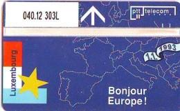 Telefoonkaart  LANDIS&GYR NEDERLAND * R 040.12  303L *  Goedemorgen Europa Luxemburg * NL Prive  ONGEBRUIKT * MINT - Privé