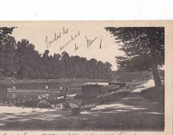 CHATILLON Sur  LOIRE,,,,LA  GARE Du CANAL,,,,VOYAGE 1903,,,,TBE,,,,JOLIE CARTE,,,, - Chatillon Sur Loire