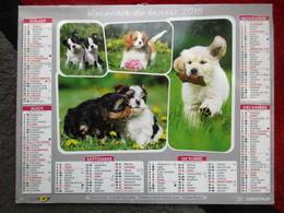 Almanach Du Facteur 2018 / Calendrier La Poste /  Chien - Calendars