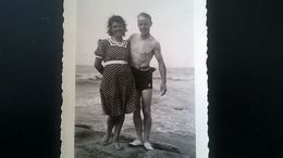 MER PLAGE PISCINE MAILLOTS LOT 14 PHOTOS ORIGINALES ANNÉES  1940 - 1950 - Lieux