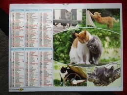 Almanach Du Facteur 2018 / Calendrier La Poste /  Chat - Calendars