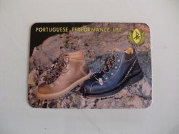 Shoe Calçado Ritex Felgueiras Portugal Portuguese Pocket Calendar 1998 - Calendars