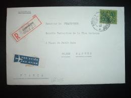 LR Par Avion Pour La FRANCE TP 10 E OBL.6-1 73 CAMPOLIDE LISBOA - 1910-... République