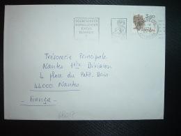 LETTRE Pour La FRANCE TP TOMAR 3,50 OBL.MEC.8 V 1974 COIMBRA - 1910-... République