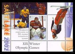 Olympics 2002 - Ice Hockey - BELARUS - S/S MNH - Winter 2002: Salt Lake City