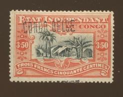 CONGO BELGE Surcharge N° 37 Locale 7 * Avec Charnière   Cote 550 € En 2019 - 1894-1923 Mols: Ungebraucht