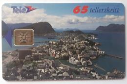 Aalesund Town  SI-5 Chip  N 8e , Norway Batch Nr 44971 - Norway