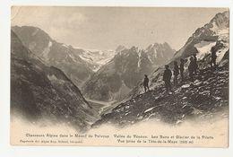 Chasseurs Alpins Dans Le Massif Du Pelvoux, Vallée Du Vénéon. Les Bans, Glacier De La Pilatte, Prise De ... (2067) - Regiments