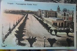 Tripoli Conte Volpi Passeggiata - Libya