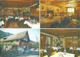 Flaach - Gasthaus Ziegelhütte (4 Bilder)        Ca. 1980 - ZH Zurich