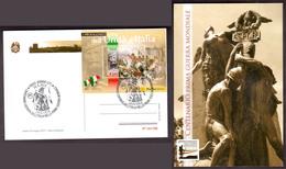 Talia Italy (2015) Annullo Speciale/special Postmark: Adrano; Centenario Prima Guerra Mondiale - World War I - Prima Guerra Mondiale