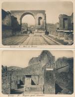 T.770.  POMPEI - Lotto Di 12 Cartoline Fotografiche - Ediz. A. Traldi - Pompei